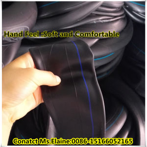 Distributor ISO9001 Certificated Natural Butyl Motorcycle Inner Tube (300/3.25-18) pictures & photos