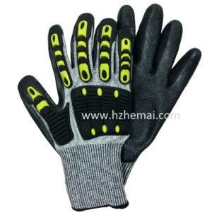 TPR Impact Glove Anti Cut Resistant Gloves Mechanix Work Glove pictures & photos