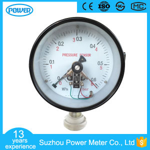 6bar/MPa 150mm General Manometer with Electric Contact pictures & photos