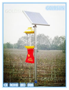 Intelligent Solar Pest Killer/Agriculture Insect Killer Lamp, Manufacturer pictures & photos