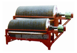 Chinese Double-Roller Drum Magnetic Separator pictures & photos