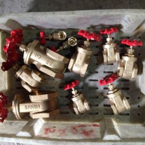 Lead Free Brass Heavy Duty Gate Valve pictures & photos