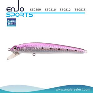 Minnow Fishing Bait Shallow Fishing Tackle Lure with Vmc Treble Hooks (SB0812) pictures & photos