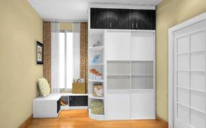 Cheap Wooden 3 Door Bedroom Wardrobe (zy-023) pictures & photos