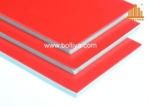 Fire Proof Aluminum Composite Panel / Fr Acm / SL-1852 Chinese Red pictures & photos