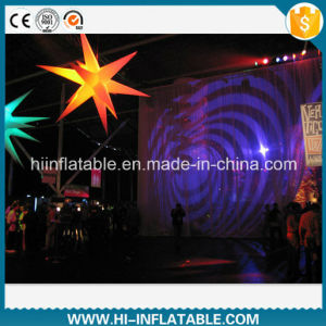 Event Hanging Decoration LED Lighted Inflatable Star Light No. Sta231 for Sale pictures & photos