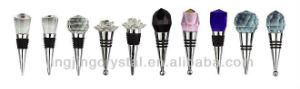 Crystal Wine Stoppers with Many Colors for Gifts pictures & photos