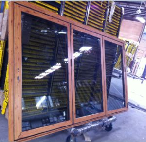 Aluminum Folding Window with Flyscreen (CL-W1019) pictures & photos