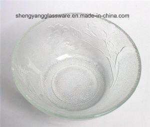 Emboss Fruit Glass Bowl / Decorative Bowl Factory Direct Sale pictures & photos