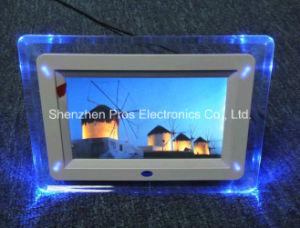 Acrylic Digital Photo Album, 7 Inch Digital Photo Frame LCD
