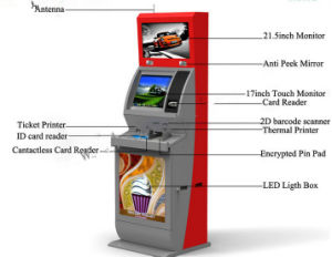 Customized Functional Payment Terminal Self Service Ticket Touch Screen Kiosk pictures & photos