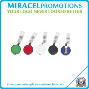Custom Round Badge Reel for ID Card Holder (MF-3106)