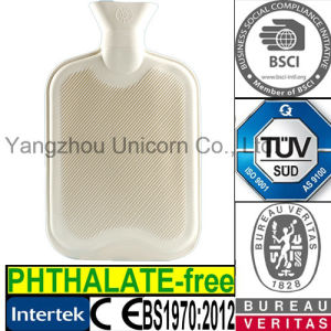TUV/ Phthalate-Free SGS BS1970: 2012 Rubber Hot Water Bag