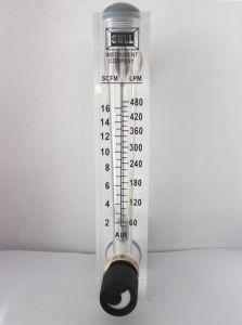 Low Price Panel Air Flowmeter with Valve, Flowmeter for Air