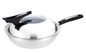 Non-Stick Stainless Steel Wok Cookware (QW-KS678) pictures & photos