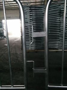 Customized Metal Crowd Control Barrier, Portable Barricades, Pedestrian Barriers pictures & photos