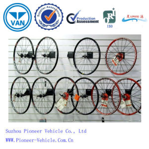 Hot Selling Bike Wheel Hanging Rack Wheel Rack Mounted on Space Wall pictures & photos