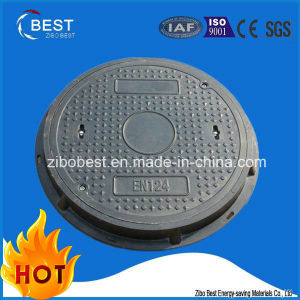 C250 En124 Round Locking FRP SMC Sewer Manhole Cover Composite pictures & photos