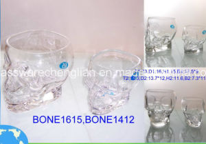 Skull Design of Glass Cup (B-KB004) pictures & photos