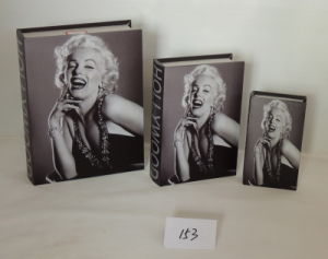 Retro Marilyn Monroe Wooden Book Box