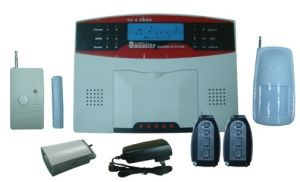 GSM Wireless Home Alarm System with Color LCD Displayer and Voice Prompt (PD-906)