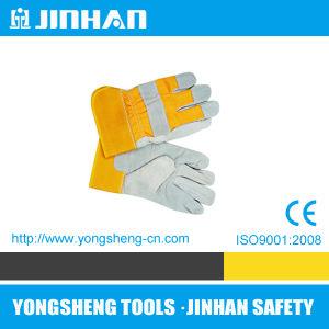 10.5′ Work Glove Cow Split Leather Full Palm (S-5004)