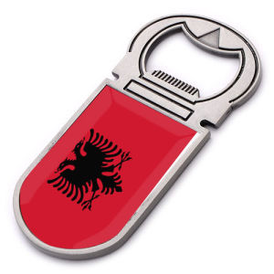 New Custom Metal Souvenir Albania Fridge Magnet pictures & photos
