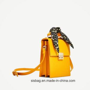 Scarves Decoration Handbag Women Briefcase Hand Bag pictures & photos