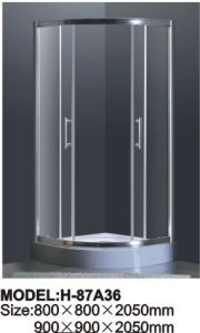 Sanitary Ware Simple Shower Room Tempered Glass Doors