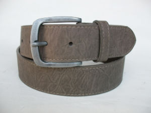 Men′s Classical Pin Anti-Nickel Buckle Belt Jx-M0044 pictures & photos