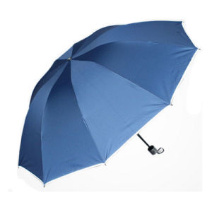 Wholesale Promotional Gift Outdoor Rain Folding Umbrella pictures & photos