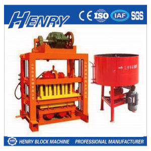 Henry Industrial Qtj4-40 Semi-Automatic Hollow Block, Paving Block and Solid Block Making Machine pictures & photos
