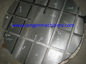Customized T-Slotted Machine Tool Sub Plate pictures & photos