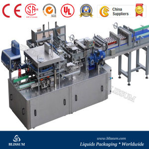 Full Automatic Wrap Around Carton Packing Machine pictures & photos
