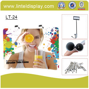 Fast Assemble Tension Pop up Display Banner Stand (LT-24) pictures & photos