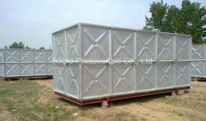 100, 000liters Galvanized Steel Water Containers/Professional Water Tank Factory