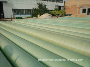 FRP GRP Fiberglass Composite Pressure Epoxy Resin Water and Oil Pipe pictures & photos
