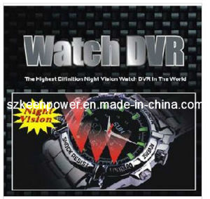 Waterproof 1080p Digital Watch Camera with Night Vision pictures & photos