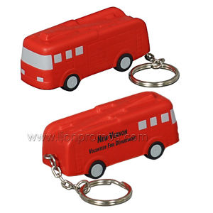 Car Shape PU Foam Keychain pictures & photos