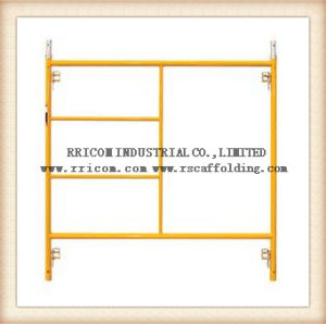 Safe SGS Qualified Frame Scaffolding, Frame Scaffolding System, Scaffolding Frame pictures & photos