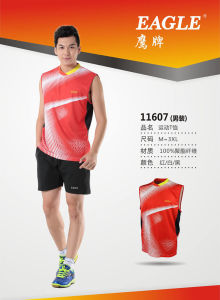 2015 Latest Model Badminton T-Shirt (11496)