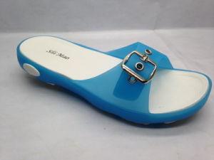 PVC/TPE Transparent Jelly Lady Sandals (21IV1601) pictures & photos