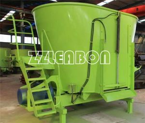 Vertical Mixer Wagons with Large Volume Total Mixed Ration Feed Mixer pictures & photos