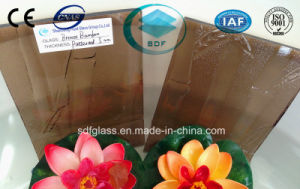 Colored Patterned Glass-Bronze Bamboo pictures & photos