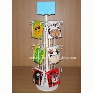 Four Sides Rotating Counter Card Display (PHY130) pictures & photos