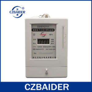 Single-Phase Electronic Pre-Paid Watt-Hour Meter (DDSY2111)