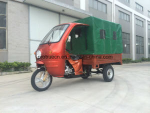 Multi-Used Tricycle with Rear Canvas and Passenger Long Seat (TR-17) pictures & photos
