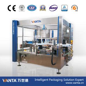 24000bph Versatile Labeller Rotary Hot Melt Glue Labeling Machine