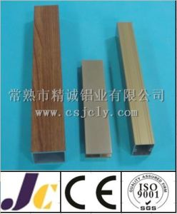 6000 Series Square Aluminum Pipe with Colored Powder Coating (JC-C-90066) pictures & photos
