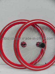 Hi Quality 700c Fix Gear Bike CNC Wheel Sets pictures & photos
